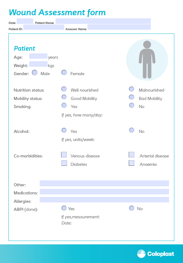 Wound Assessment Form
