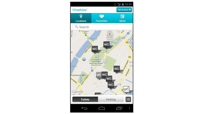 WheelMate for Android phones
