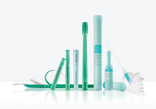 Compact catheters for men and women