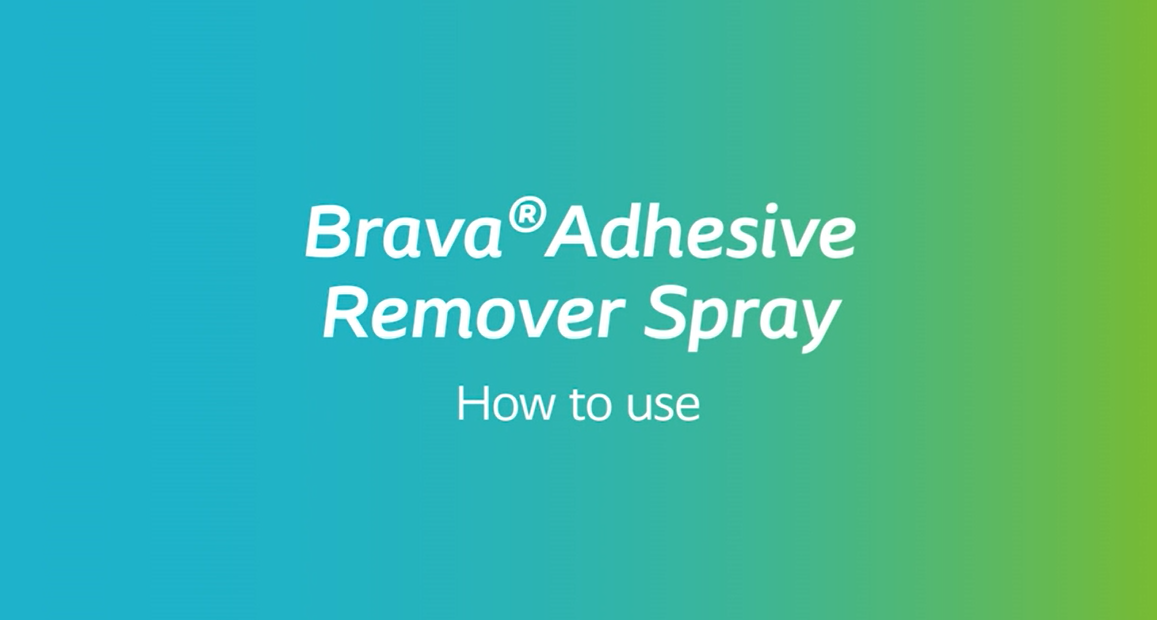 How to use Brava® Adhesive Remover Spray